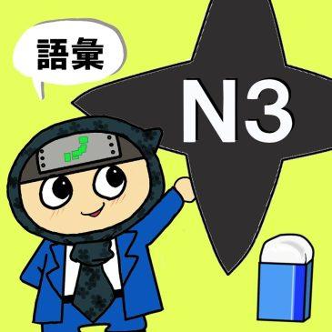 【日本語問題】JLPT N3 文脈規定③