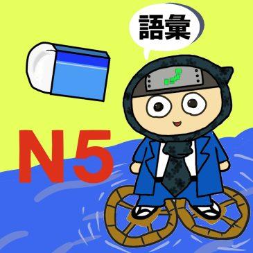 【日本語問題】JLPT N5 文脈規定③